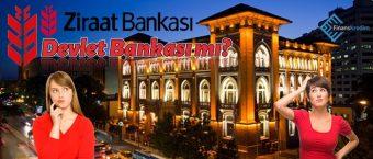 Ziraat Bankası Devlet Bankası Mı?